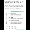 Venome PEEL KIT - zestaw do pełnej procedury zabiegowej (50 zabiegów)