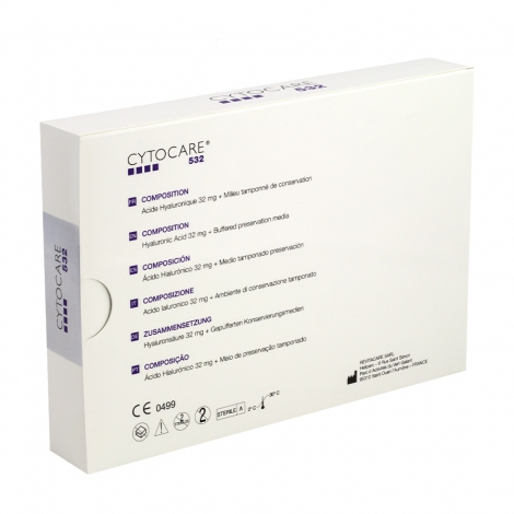 Cyrocare 532 Revitacare fiolka 5ml, mezokoktajl, mezoterapia igłowa