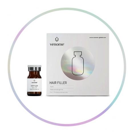mezoterapia głowy, mezoterapia do włosów, najlepszy preparat na łysienie, Venome HAIR FILLER 2 ml
