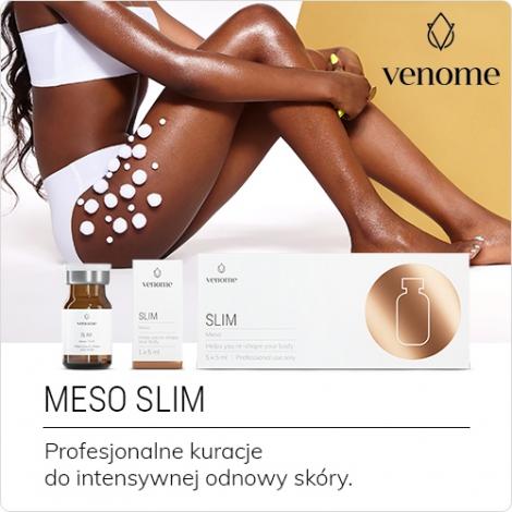 Mezokoktajl Venome Meso SLIM 5 ml - Pomoc w zwalczaniu trudnych do usunięcia depozytów tłuszczowych