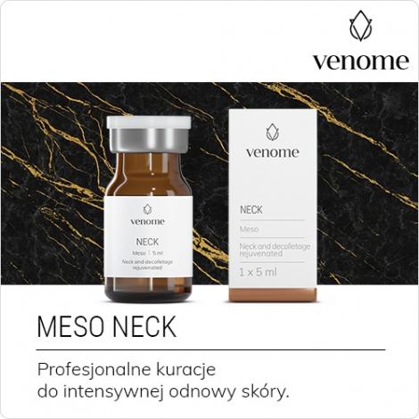 Mezokoktajl Venome Meso NECK 5 ml - Bio-odnowa okolic szyi i dekoltu
