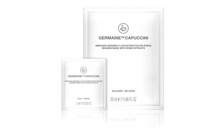 Germaine de Capuccini  Skinzen Mask z ekstraktem z róży, 10 szt