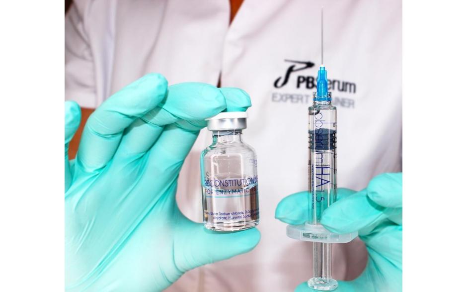 Szkolenie z zabiegów iniekcyjnych z zastowaniem enzymów PB Serum