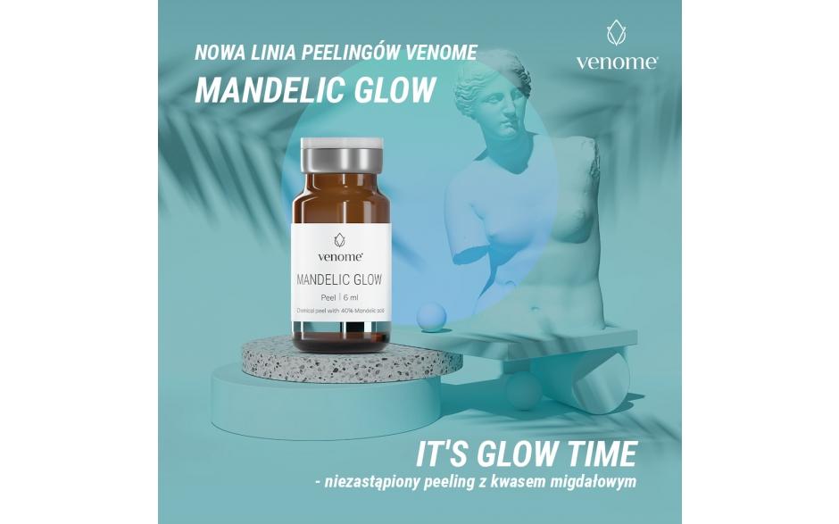Venome Peel Mandelic Glow 40% 6ml (