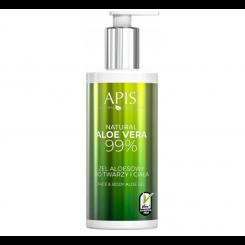 APIS Face & Body Natural Aloe Vera 99% - Żel aloesowy 300ml