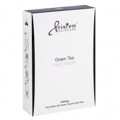 Maska Princess Skincare Green Tea 8szt.