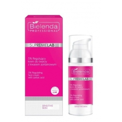 Bielenda Supremelab Sensitive Skin 5% Regulujący krem do twarzy z kwasem azelainowym 50ml