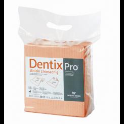 Śliniak z kieszenią Dentix Pro Pocket - 50szt, 6 kolorów