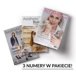 Pakiet 3 numerów Aesthetic Business - niezbędnik zabiegowca!