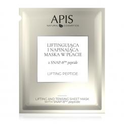 APIS Liftingująco – napinająca maska w płacie z SNAP-8 TM peptide 20g