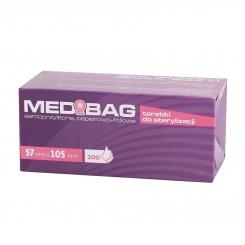 Torebki do sterylizacji MEDIBAG 057 x 105 mm