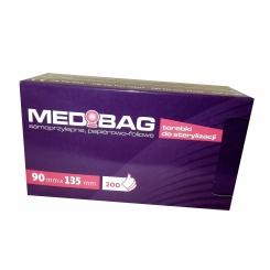 Torebki do sterylizacji MEDIBAG 090 X 135 MM