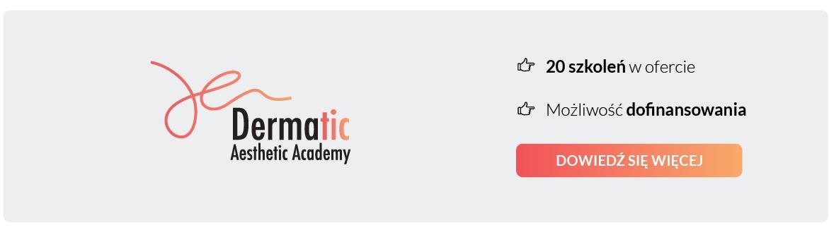 dermatic aesthetic academy, akademia estetyczna, szkolenia z branży medycyny estetycznej, najszersza oferta szkoleń na rynku